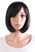 MapofBeauty Beautiful Women's Short Straight BOB Wig