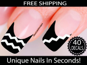Chevron Nail Stickers - Chevron Nail Art