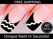 Chevron Nail Stickers - Chevron Nail Art
