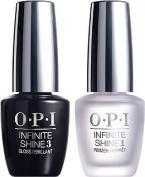 OPI Infine Shine PRIME + GLOSS Duo Pack .150ml Top & Base Coat