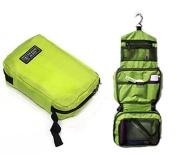 Travel Toiletry Bag Multifunctional Wash Shower Bag Original Zipper Tour Case Organiser Kits Makeup Bag,Green