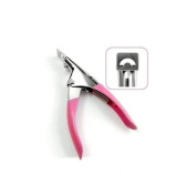 Suppion® Acrylic Uv Gel False Nail Tip Clipper Cutter Pink