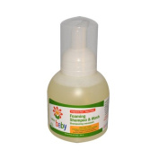 New - Lafe's Natural and Organic Baby Foaming Shampoo and Wash - 350ml