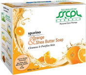 SSCPL Herbals Orange & Shea Butter, Combo Pack Of 4 Soaps, 400Gms