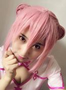 Sunny-business Anime Short Pink Inu X Boku Ss Pyramid Cosplay Wig