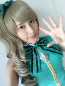 Sunny-business Anime Love Live Long Bangle Curly Girls Cosplay Wig