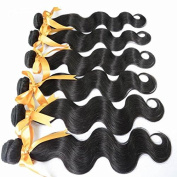 20 22 22 22 60cm Human Hair Extension/Weaves 5 Bundles Brazilian Wavy Hair Body Wave Fastshipping