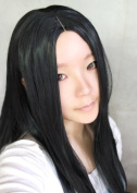 Sunny-business Long Straight Black Party Women Anime Cosplay Wig