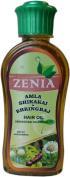 200ml Zenia Amla Shikakai Bhringraj Hair Oil 100% Natural No Mineral Oil