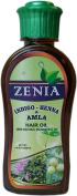 200ml Zenia Indigo Henna Amla Hair Oil 100% Natural No Mineral Oil