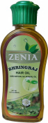200ml Zenia Bhringraj Maka Hair Oil 100% Natural No Mineral Oil