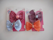 Goody Girls Beautiful Bow Barrettes 2 Count Colours Vary