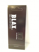 Blax Snag Free Hair Elastics Ponytail Holders 2mm - Black