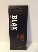 Blax Snag Free Hair Elastics Ponytail Holders 2mm - Brown