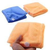 Lady's Magic Hair Drying Towel/hat/cap Quick Dry Bath - Colour Random