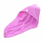 Absorbent Turban Shower Cap Dry Hair Cap