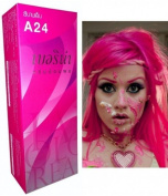 Berina Permanent Hair Dye Colour Cream # A24 Magenta