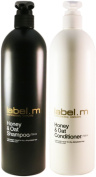Label.m Honey & Oat Shampoo And Conditioner 750 ml Each /25 Oz