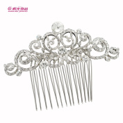 Vintage Combs Bridal Wedding Hair Jewellery Austrian Crystals Hair Comb Hair Accessories Hairpins 2299R