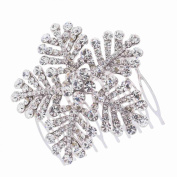 Snowflage Hair Combs Bridal Wedding Hair Accessories Crystals Hairpins Jewellery Hair Clips 8802