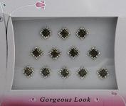 Pretty Diamond Shape Bindis for Beautiful Women