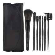 Smartstar 7pcs Professional Cosmetic Makeup Brushes Set Kit with Black Bag Case