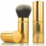 Smartstar Professional Retractable Blush Brush Kabuki Blusher Makeup Brush, Perfect for Travel - Gold
