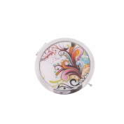 Women's Stainless Steel Fusion Compact Cosmetic Mirror