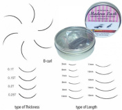 Modern Lash EyeLash Extensions B - Curl Lashes .2mm Thick 0.5 gramme Choose Length