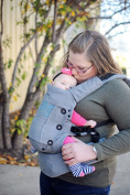 Moby Aria Baby Carrier - Grey