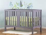 Dream On Me Havana 5 in 1 Convertible Crib, Grey