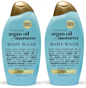 OGX Body Wash, Hydrating Argan Oil of Morocco, 380ml