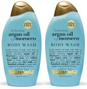 OGX Body Wash, Hydrating Argan Oil of Morocco, 380ml