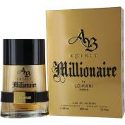 AB Spirit Millionaire Eau De Toilette Spray for Men, by Lomani, 100ml