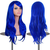 """EmaxDesign® Wigs 70cm 28"""" High Quality Women's Cosplay Wig Long Big Wavy Heat Resistant Fashion Glamour Hairpiece with Free Wig Cap (Colour"""