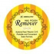 Absolute Nail Polish Remover Pads Lemon Scent - 4 pieces