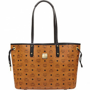 2015 MCM SHOPPER PROJECT Reversible Medium Shopper Bag Beige - MWP5SVI38IG /Beige, Black, Chark Pink, Cognac, Denim, White