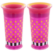 Sassy 2 Count Grow Up Cup, Pink/Pink, 270ml