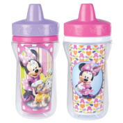The First Years 2 Pack 270ml Insulated Sippy Cup, Minnie Mouse