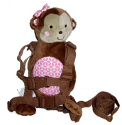 Carter's Child of Mine 2-in-1 Harness Buddy Bear with pink!