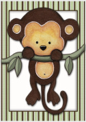 Little Mod Pod Monkeys - Nursery Art Prints