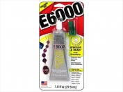 Eclectic Products ECL42001 Adhesive E6000 Jewellery & Bead Glue - 30ml With Tip Carded
