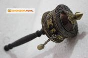 Tibetan Buddhist Om Mani Padme Hum Hand Prayer Wheel