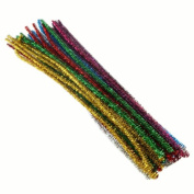 Tinsel Pipe Cleaners (40)