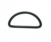 Tianbang Black 5cm Inside Diameter D Ring D-ring Buckle for Loose Ring Pack 10