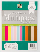 DCWV The Cardstock Multipack Stack, 22cm X 28cm