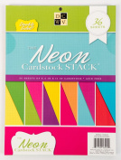 DCWV The Double-Sided Cardstock Stack, Neon