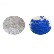 Lot of 2 Matte Soap Cosmetic Making Powder Samples 1g Titanium Dioxide White and 1 Gramme Ultramarine Blue Pigments