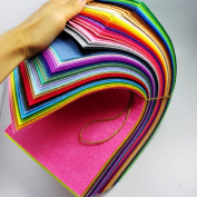 CHENGYIDA 180cm - 30cm x 15cm Sheets Merino Wool blend Felt -