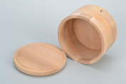 Handmade small wooden round box with lid craft blank for painting or decoupage